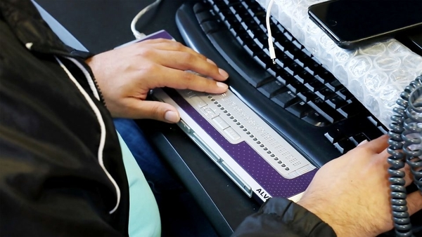 assistive technology braille keyboard