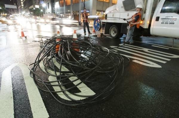 dark fiber cable
