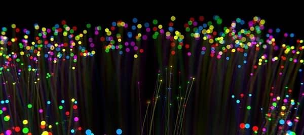 dark fiber optic cables