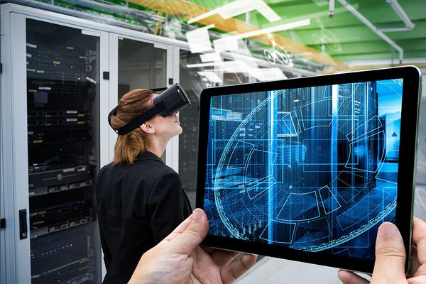 augmented reality data center