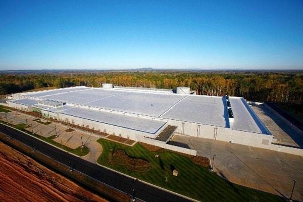 apple data center in maiden nc