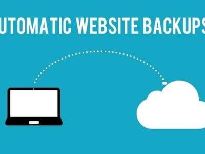 website backup service