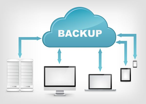 how to backup server