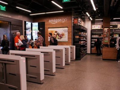 amazon go cashierless store