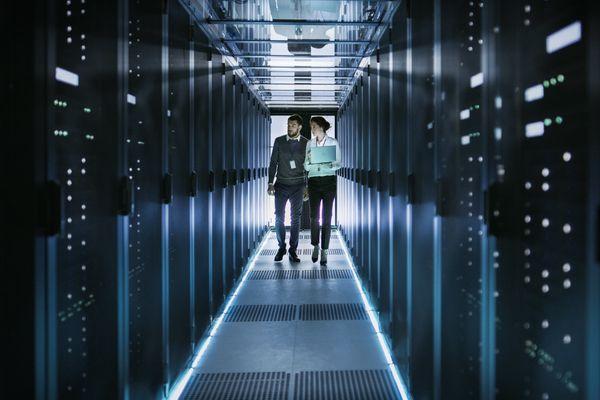 data center staff