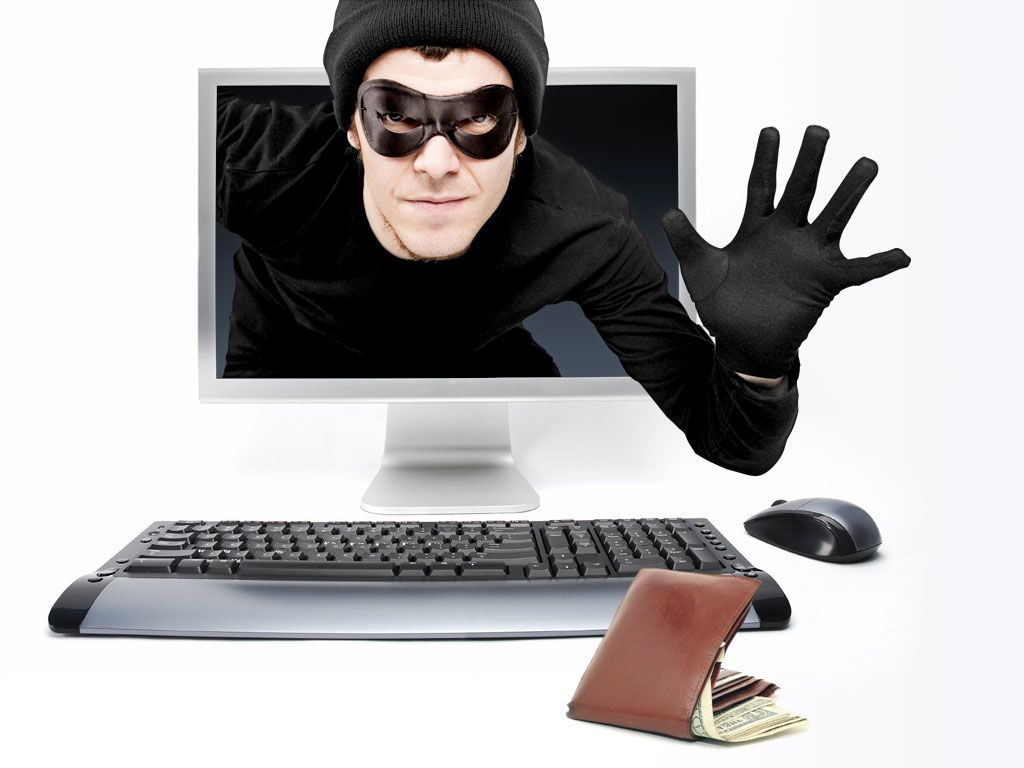 cyber thief hacking