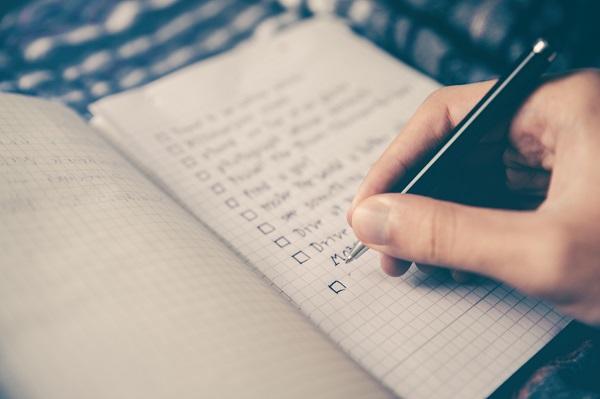 checklist for data center