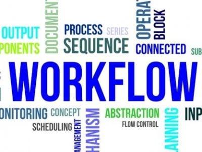 workflow of data center