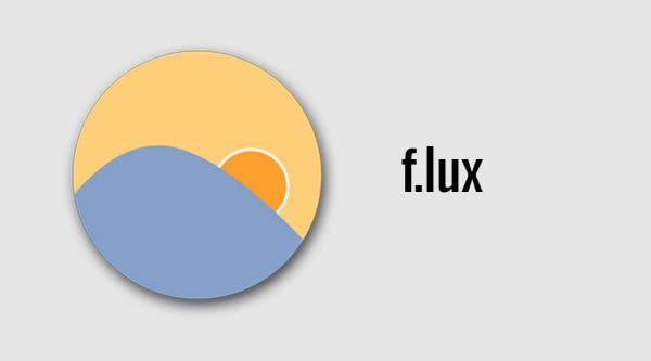 warm your screen with f.lux
