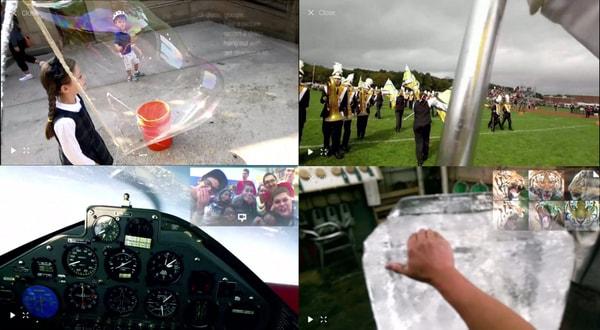 google glass view