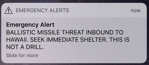 hawaii emergency broadcast
