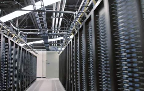 huge data center