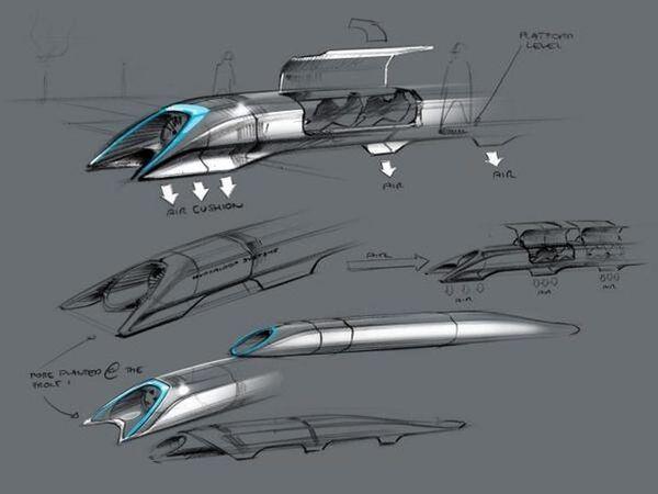 Hyperloop Elon Musk