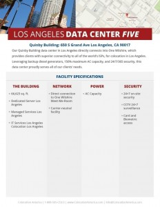 data centers in los angeles colocation america. Black Bedroom Furniture Sets. Home Design Ideas