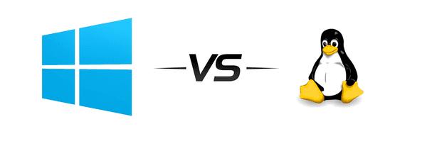 windows vs linux server