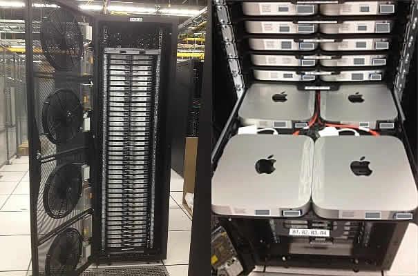 mac mini server rack
