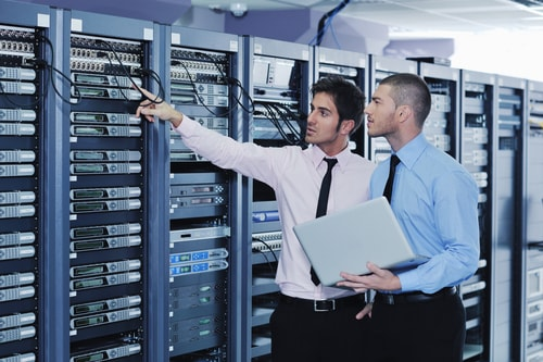 colocation management server