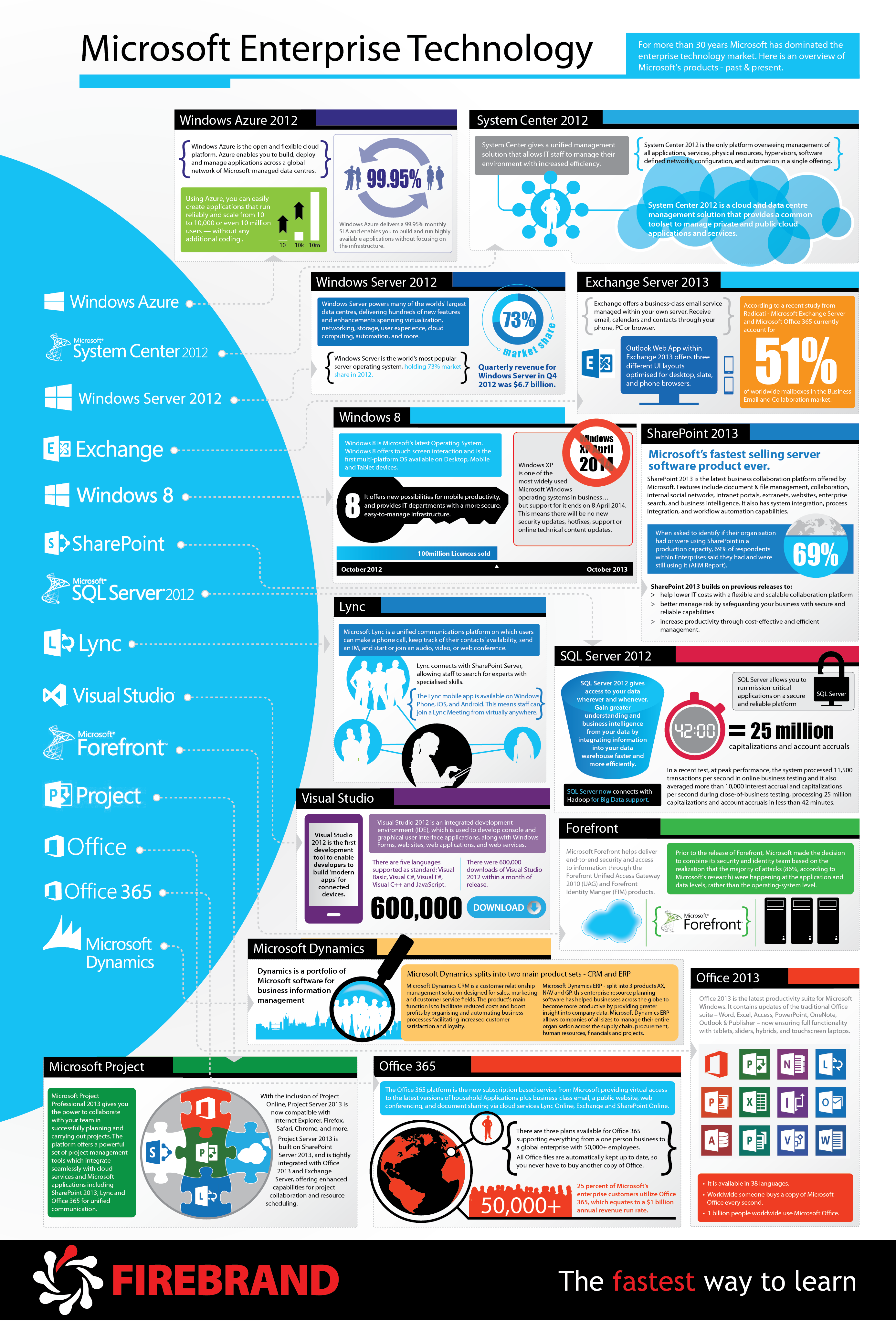 Fun Info Graphic Depicting Microsofts Services Offerings