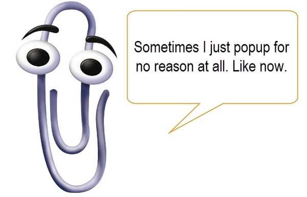 microsofts chatterbot clippy