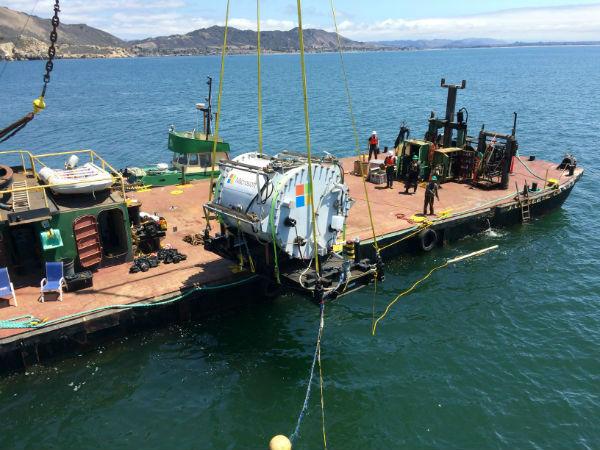 submerging data center