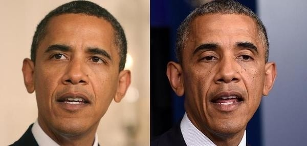 before after obama
