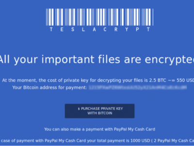 ransomware locking computer