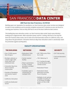 San francisco colocation services colocation america for Innovation consulting san francisco