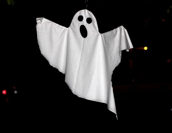 realistic spooky ghost