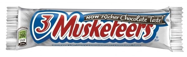 three musketeers candy