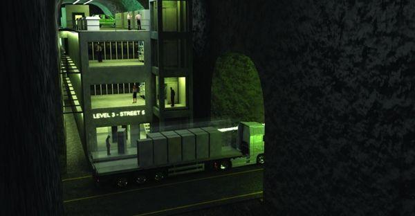 data centers underground