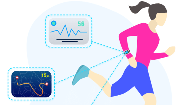 data of wearables in hospitals