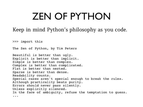 python zen