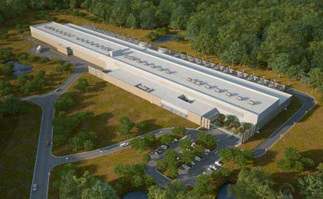 Facebook North Carolina data center