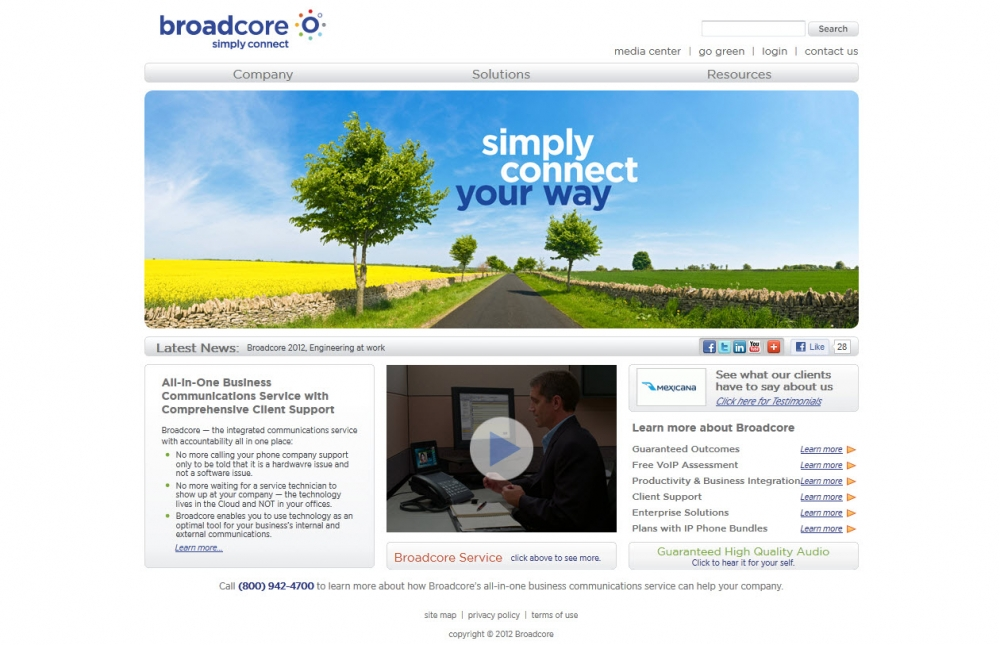 Broadcore Website