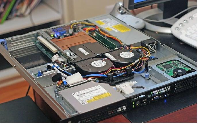 inside of a dedicated server