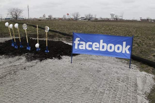 facebook iowa data center
