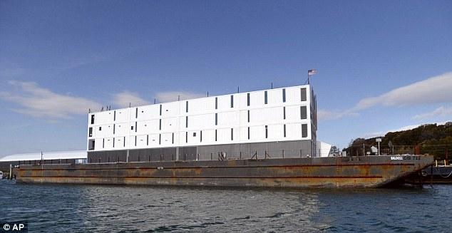 Google's Floating Data Center