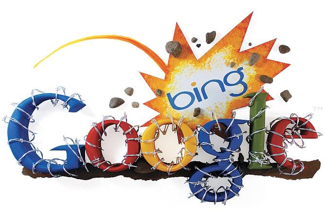 battle of the search engines   google vs bing vs yahoo
