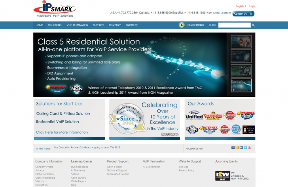IPsmarx website