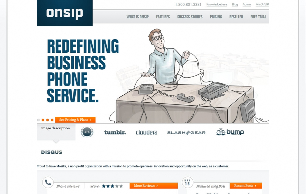 onSIP website