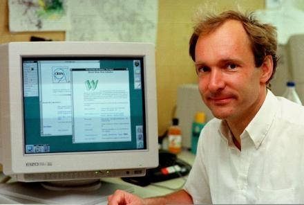 World Wide Web pioneer Tim Berners-Lee