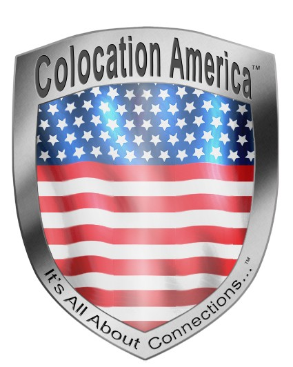 Colocation America Flag badge