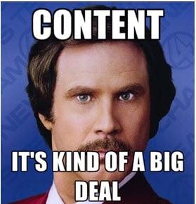 Content its kind of a big deal