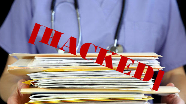 hospital network hacked