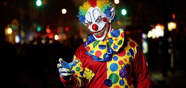 scary clown links