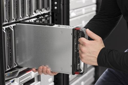 saving money with blade servers