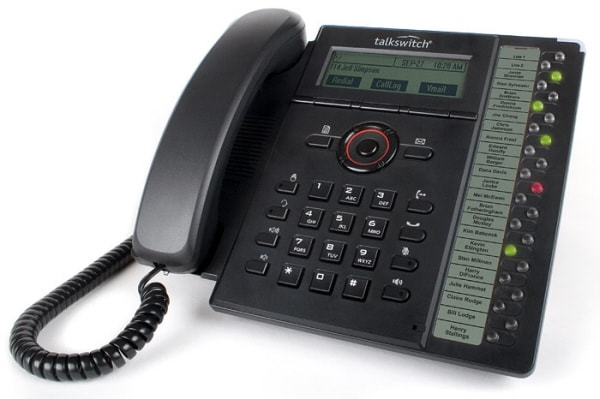 voip telephone with extension