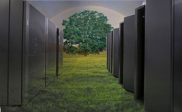 How to lessen carbon footprint of data center