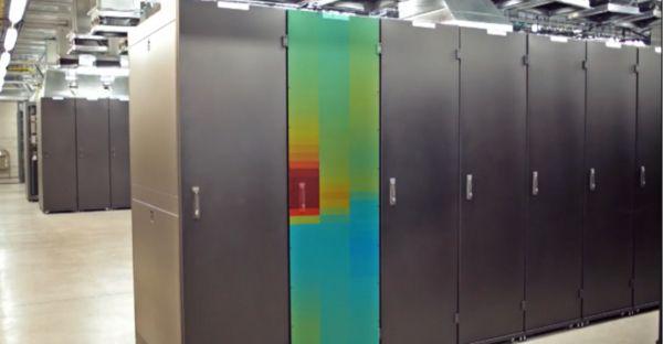 robot monitors data cooling