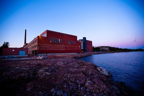 google data center paper mill